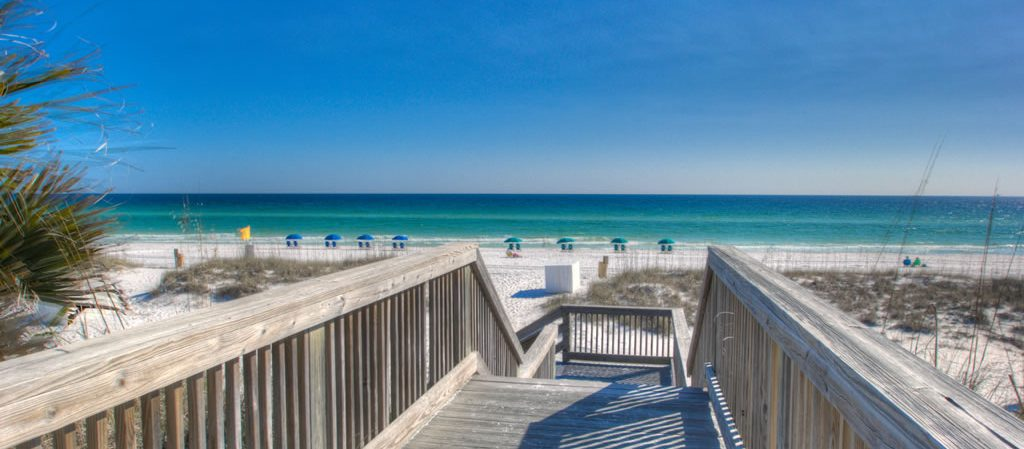 Our Gulfview condo rentals are right on the beach with boardwalk access.