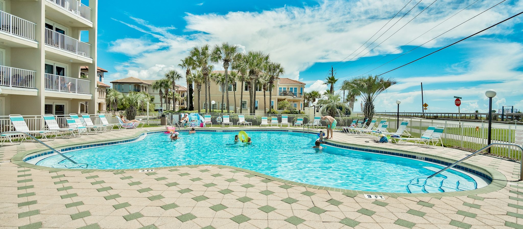Find places to stay in Destin with a pool.